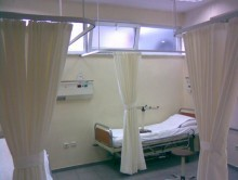 Hastane Yatak Bölmesi 4 | Perde | Hastane Yatak Bölmesi